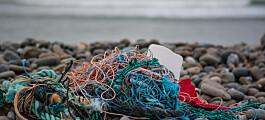 Plast fra havet blir frisørprodukter