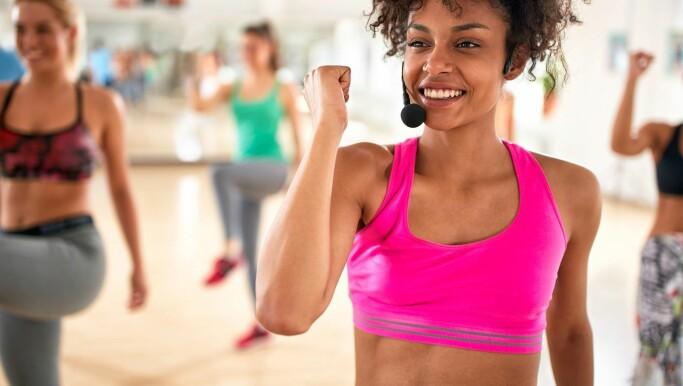 En studie fra 2008 viste at mange gruppeinstruktører ved norske treningssentre sliter med spiseforstyrrelser.
