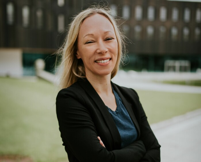 Journalistikkprofessor Helle Sjøvaag.