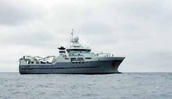 "Forskningsfartøyet ""G.O. Sars"". (Foto: Kjartan Mæstad)"