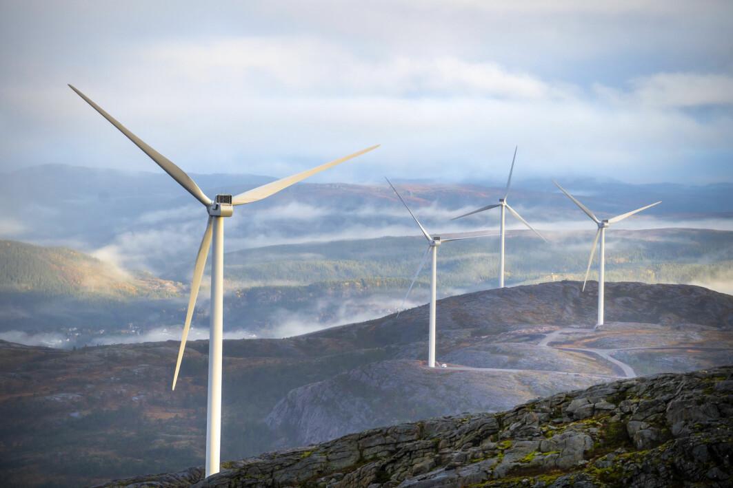 I dag kommer om lag 10 prosent av norsk elektrisitet fra vind. Første del av Storheia vindpark i Fosen ble satt i drift i 2020 og dekker så langt strømbehovet til rundt 13 000 husstander.