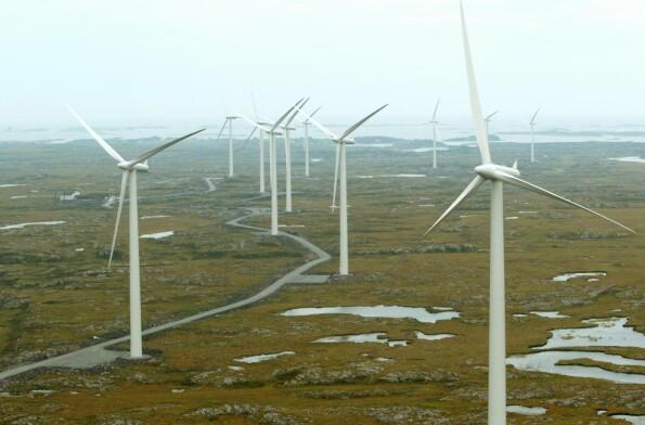 Neppe særlig mer vindkraft de neste 5 til 10 årene