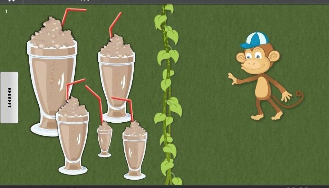 … eller milkshakeer, til den viltre apekatten Ani Banani.