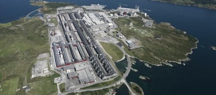 Hydro Aluminium Karmøy (Foto: Tor Alvseike)