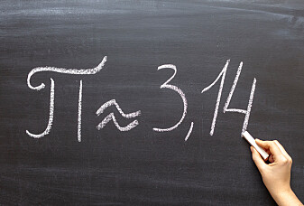 62,8 billioner desimaler er den nye rekorden for tallet pi