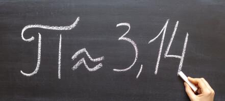 62,8 billioner desimaler er den ny rekorden for tallet pi