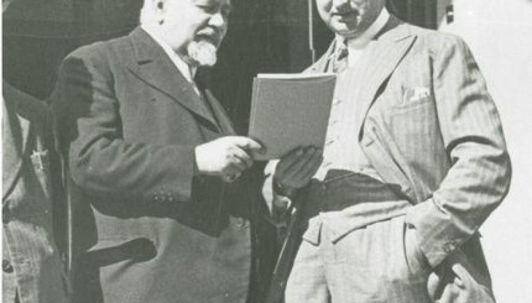 Franske Albert Calmette og bergenseren Konrad Birkhaug jobbet sammen på Pasteur-insituttet i Calmettes siste leveår.