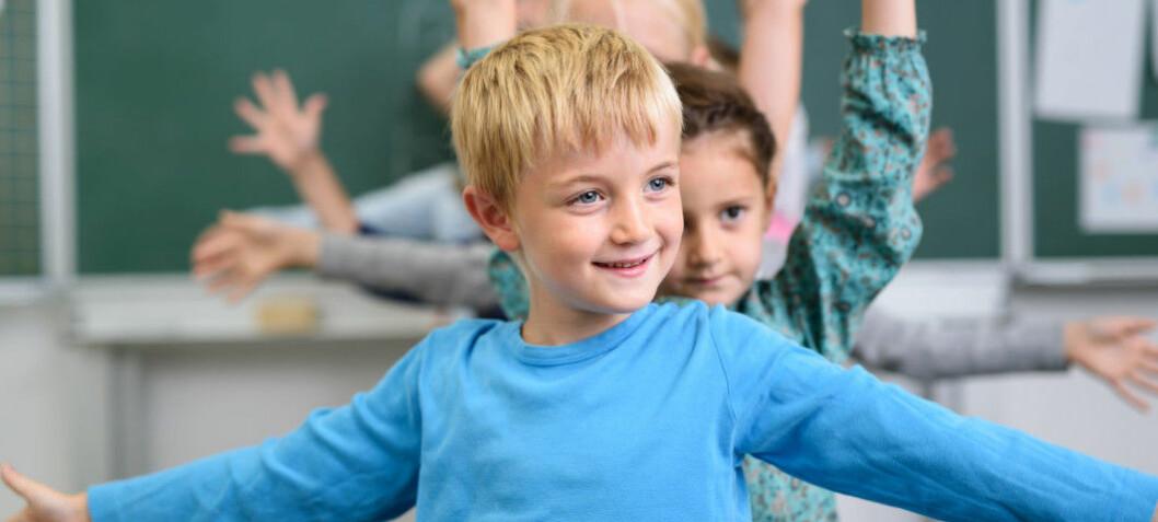 Fysisk aktivitet i undervisningen gir bedre skoleresultater