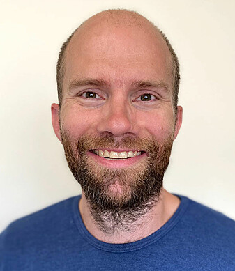 Researcher Hallvard Røe Evensmoen at NTNU's Department of Neuromedicine and Movement Science.