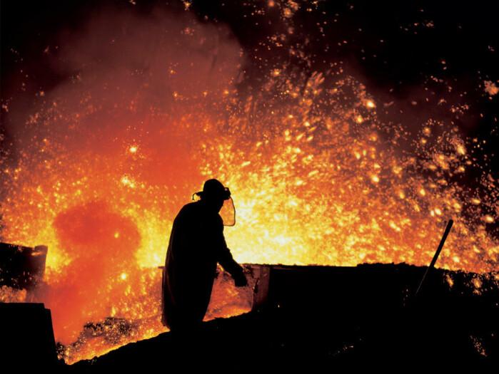 Råjern fremstilles tradisjonelt i masovner.