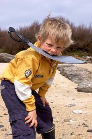 Typisk gutt? (Illustrasjonsfoto: www.colourbox.no)