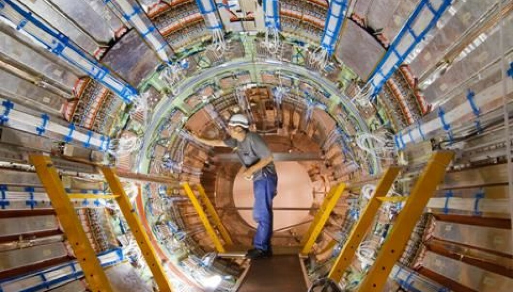 LHC snart i gang igjen