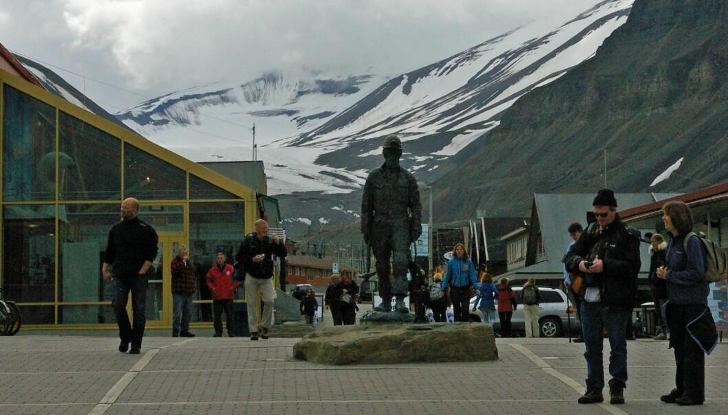 Toktdagbok: Første dag på Svalbard