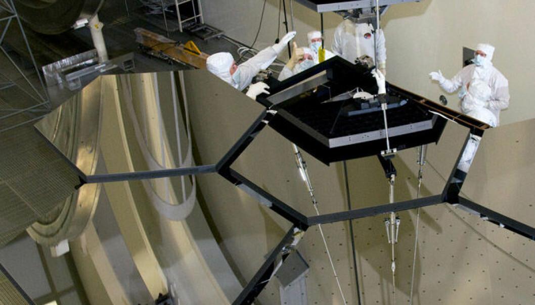 Testet speilene til Hubbles avløser