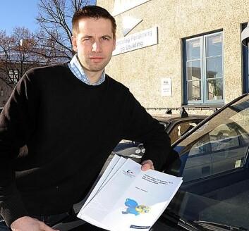 Håkon Sivertsen i Trøndelag Forskning og Utvikling AS.