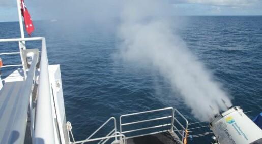 Australske forskere prøver å lage kunstige skyer over verdens største korallrev