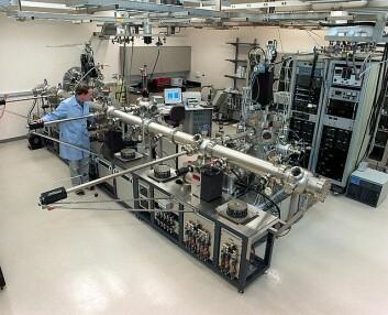 Bildet viser MBE-anlegget i William R. Wiley Environmental Molecular Sciences Laboratory. (Foto: Wikipedia)