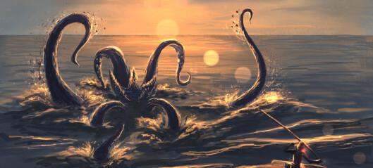 Hvorfor trodde folk at det var monstre i havet?