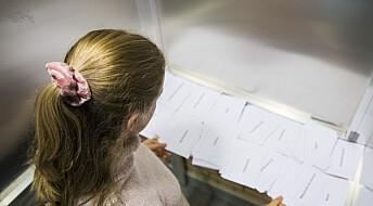 Miljø og klima er ventet å gi store utslag i årets skolevalg