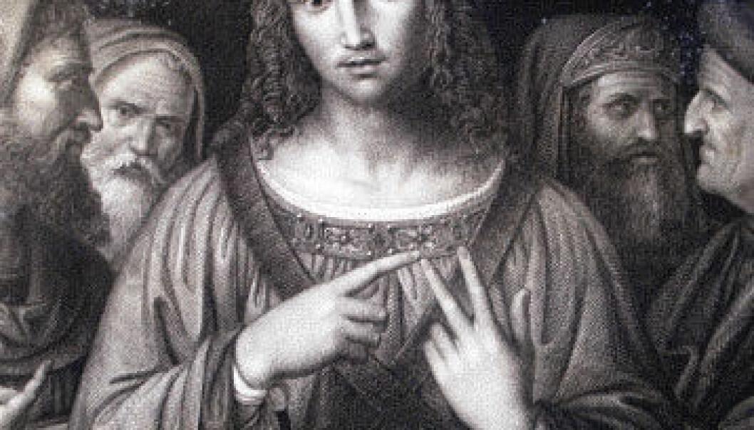 """""""""""Christ among the doctors"""", fra Bowyerbibelen. Malt av italieneren Bernardino Luini tidlig på1500-tallet. (Kilde: Wikimedia Commons)"""""""