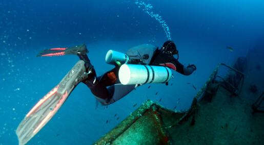 Stort gjennombrudd i forskning på dykkersyke