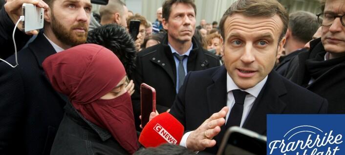 Islamistisk «separatisme» blir valgkampmat i Frankrike