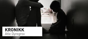 «En tolvåring som mistet sin far plutselig, lagde middag til både seg selv og mor i ukesvis fordi mor la seg på sofaen...»