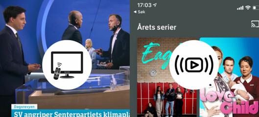 Mer fiksjon og mindre samfunnsstoff på NRK og TV2