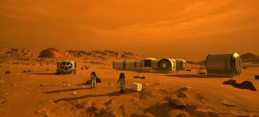 Kan vi dra til Mars uten å bli alvorlig skadet av stråling?