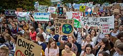 Unge stemmer i klimasaken: – Det er viktig å møte vårt engasjement