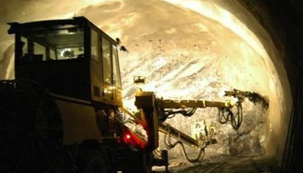Mer kunnskap om berget gir oss sikrere tunneler. (Bilde: NGIInfo)