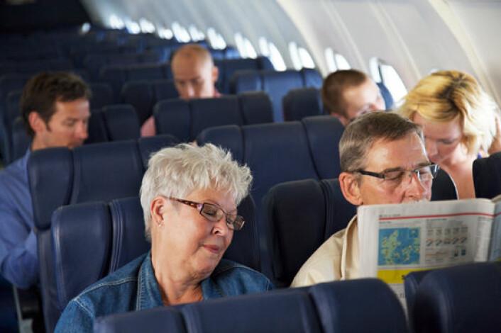 """""""Etter en flytur på 8-10 timer fra Oslo til India blir man sliten og døgnvill. En ny medisin utviklet av amerikanske og australske forskere kan hjelpe. Illustrasjonsfoto: www.colourbox.no"""""""