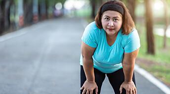 Fedme: Når du trener mer, brenner kroppen færre kalorier på andre ting