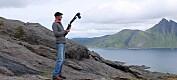 Skritt for skritt legger han grunnlaget for at geologer kan dra på virtuelt feltarbeid