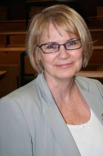 Berit Thorbjørnsrud har forsket på kristne minoriteter i Midtøsten og i Norge. (Foto: Bjørnar Kjensli)
