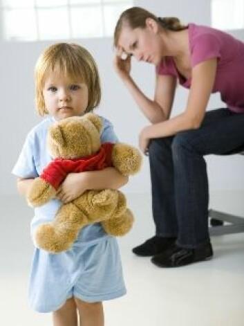 Samspillet mellom foreldre og barn er viktig for barnets psykiske helse.