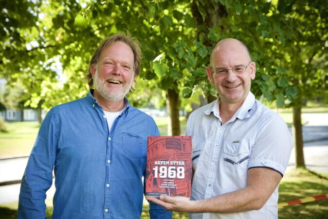"""Øyvind Tønnesson (t.v.) og Knut Dørum har analysert 1968-opprøret og drøfter virkningene av det i boken <span class="""" italic"""" data-lab-italic_desktop=""""italic"""">Arven etter 1968</span>."""
