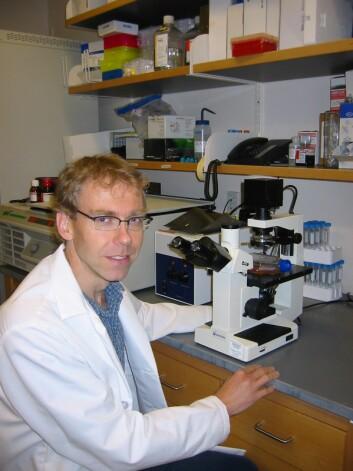 """""""Forskar Egil Lien, assistant professor ved University of Massachusetts, USA. Foto: NTNU."""""""