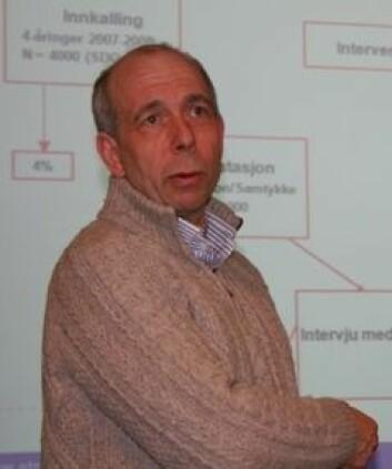 Lars Wichstrøm vil finne fram til mer pålitelige screeningmetoder for psykiske problemer blant barn.