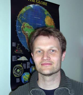 """""""- Mesteparten av energien fra jordskjelvet forplanter seg i den faste delen av jordskorpen. Etter relativt kort tid registrerer vi skjelv langt unna også i Norge, forklarer Jon Glenn Gjevestad Svendsen."""""""