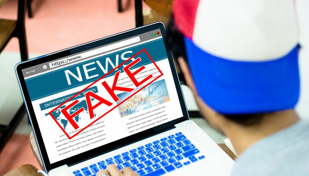 Faktasjekking kan avsløre falske nyheter.