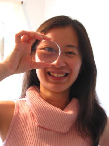 Chia-Huei Tseng forsker på persepsjon, oppmerksomhet og læring ved University of Hong Kong. (Foto: Privat)