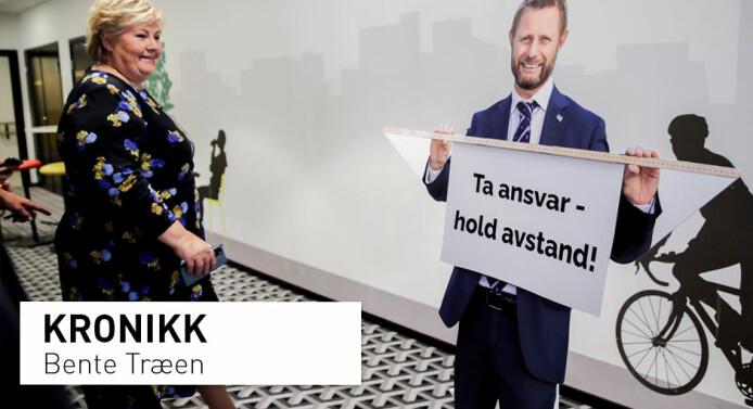 – Helseminister Bent Høie skjønner nok mer om folks sexliv enn Erna Solberg