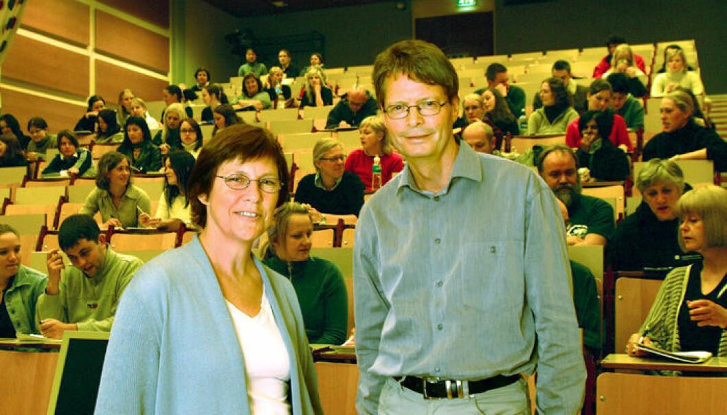 """""""Johanna Wyn og Kåre Heggen. (Foto: Gaute Hareide)"""""""