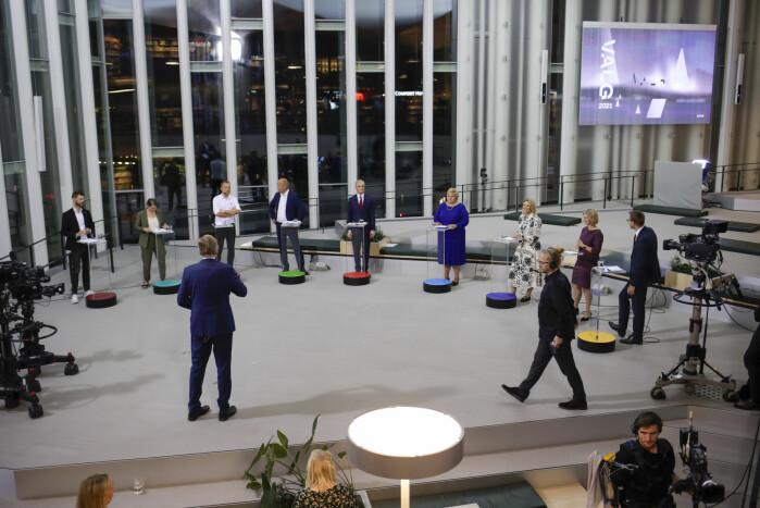 Alle partilederne møttes til debatt på Deichman Bøjrvika onsdag kveld. Men hva slags politikk er det egentlig de står for?