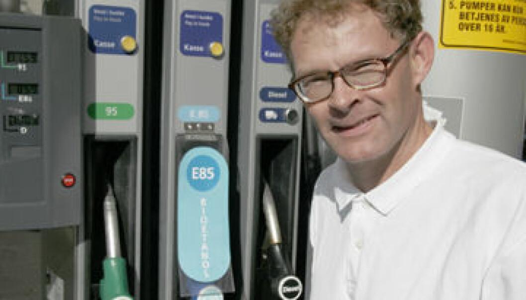 """""""Rådgiver Harald Rikheim i Norges forskningsråd mener Norge trenger et veikart for biodrivstoff."""""""