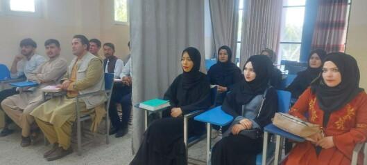 Forskere i Afghanistan flykter landet