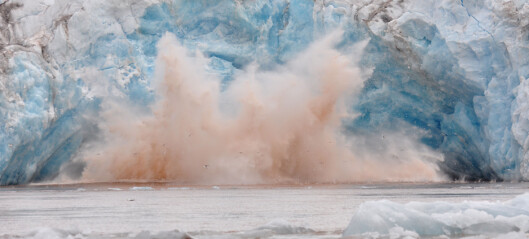 Forskere bruker roboter foran farlige isbreer