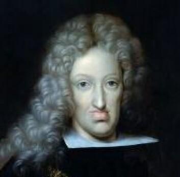 """""""Kong Karl II av Spania (1665-1700) Kunster: W. Hunter. Datidens kongeportretter uttrykte vanligvis respekt for kongelige autoriteter, Karl IIs utseende er nok pyntet på. (Foto: Wikimedia Commons)"""""""