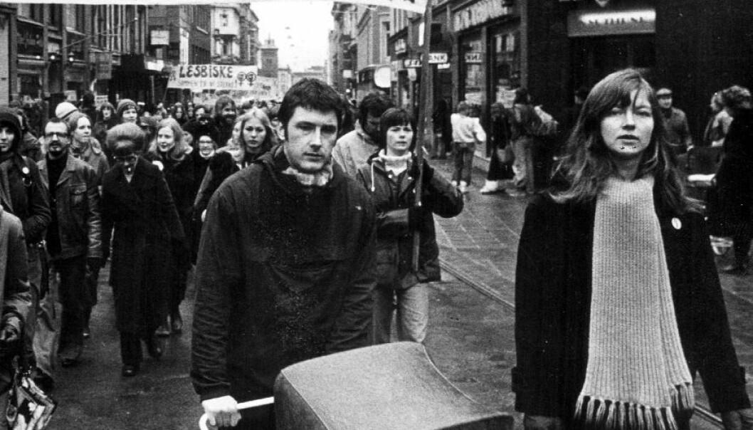 8. marstog i Oslo, 1975. (Foto: Klassekampen)